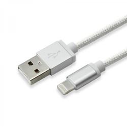 SBOX KABAL USB - IPH.7 M/M 1,5M BLISTER SREBRNI