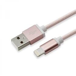 SBOX KABAL  USB - IPH.7 M/M 1,5M BLISTER ZLATNO ROZA